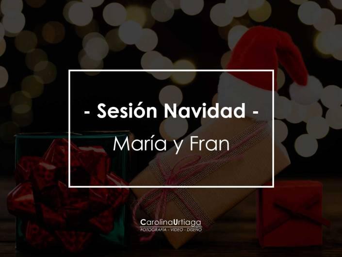 Navidad María y Fran