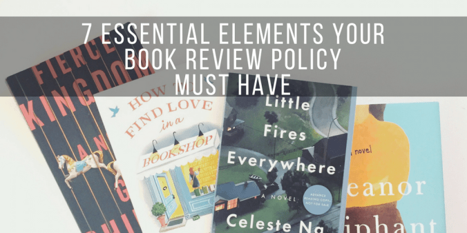 book review policy