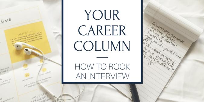 rock an interview