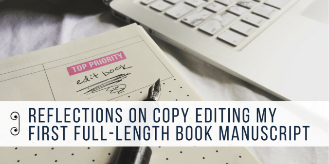 reflections on copy editing