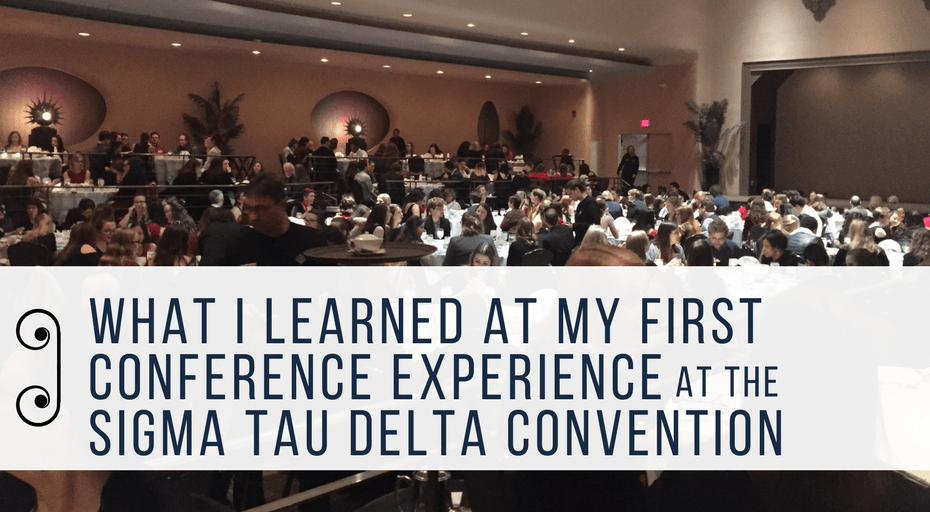 first conference experience