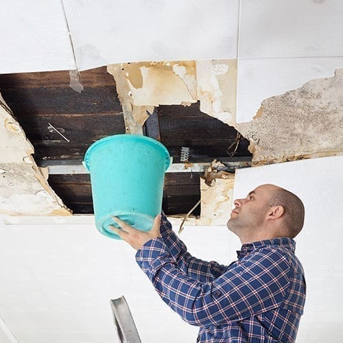 Wake Forest NC Ceiling Leak Repair