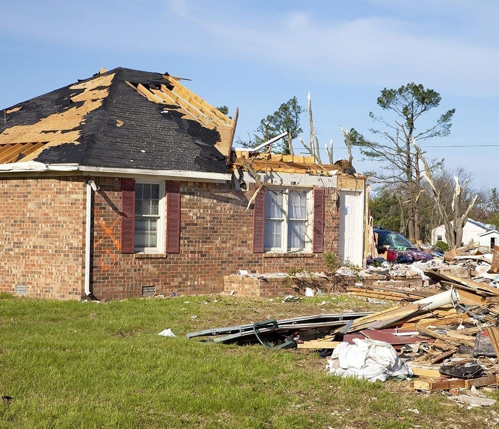 Storm Damage Restoration in Raleigh NC