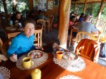 Breakfast at Izhcaluma