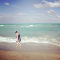Tammie's beach time