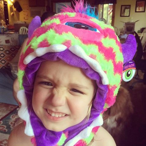 My_monster_in_her_monster_hat
