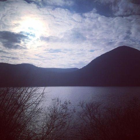 Hudson filter on Hudson River