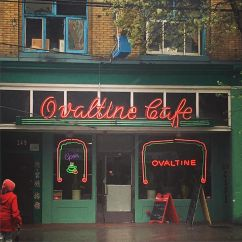 "Ovaltine Cafe from Jose Chung's ""From Outer Space"""