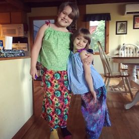 Modeling_our_new_summer_outfits_from_Nana_____Thank_you_Nana_