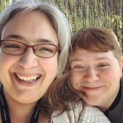 Gondola selfie with Mel