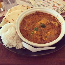 Chicken tiki masala deliciousness.