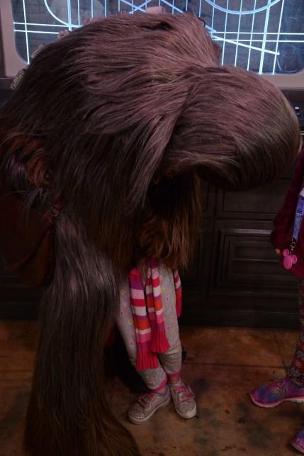 Chewbacca ate my daughter!