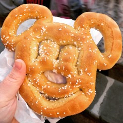 I ate Mickey's face.