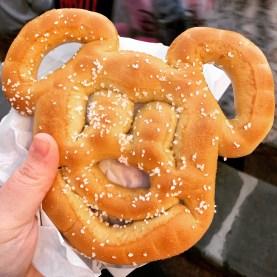 I ate Mickey's face.