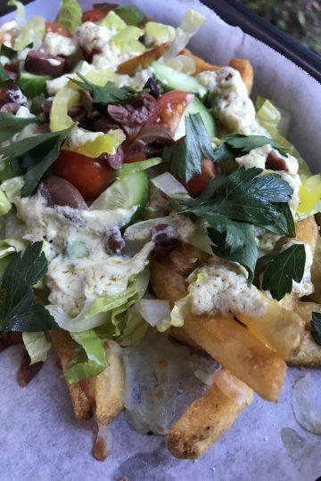 Greek Nacho French Fries