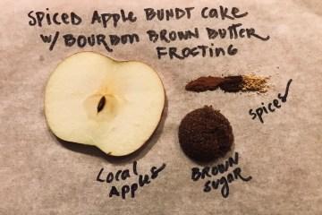Spiced Apple Bundt Cake