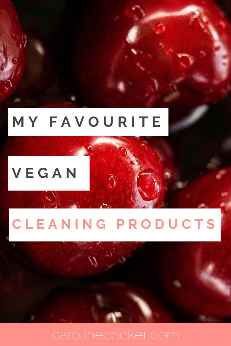 vegan cleaning