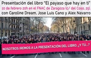 Presentacion del libro El payaso que hay en ti en Zaragoza