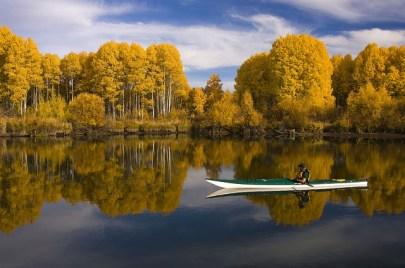Man in kayack