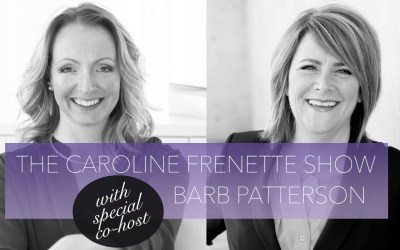 {PODCAST #38} BARB & CAROLINE : LETTING LIFE DO THE HEAVY LIFTING