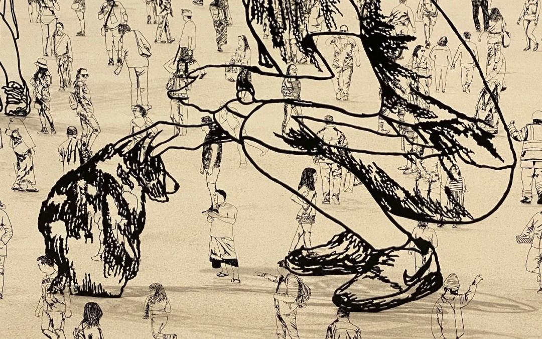 Zadok Ben-David's premonition: Art and the Pandemic