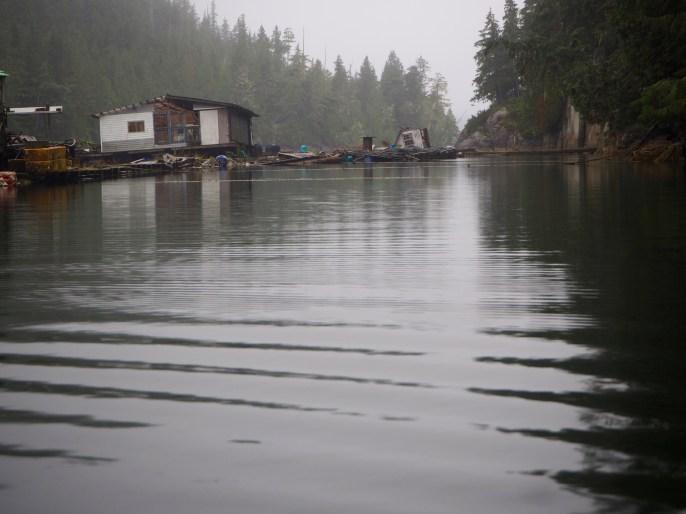 Eerie beauty of abandoned fishing facility—C.Helbig