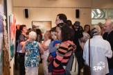 Soirée de vernissage de l'exposition 1000 et une âmes d'artistes, Collectif Québec-France en art figuratif, Salle d'exposition Jean Paul-Lemieux, 2014. Crédit photo: Sylvain Martin Photographe