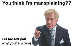 Mansplaining 1