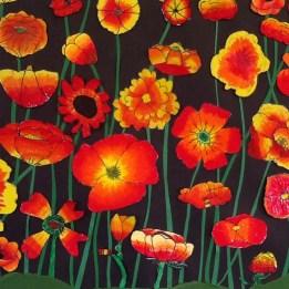 Poppies flower details2