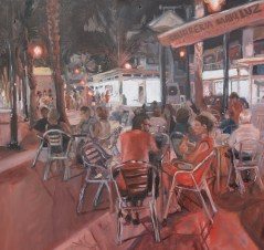 Churros en Lo Pagan - Oil on canvas