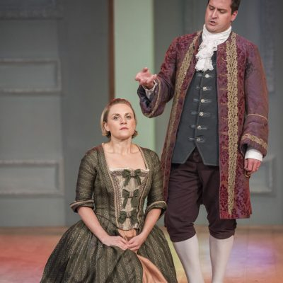 'The Marriage of Figaro', Opera Project at West Green House (photo: Matthew Williams-Ellis)