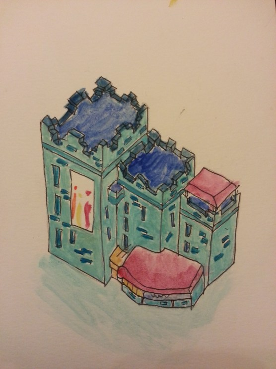 water colour sketch