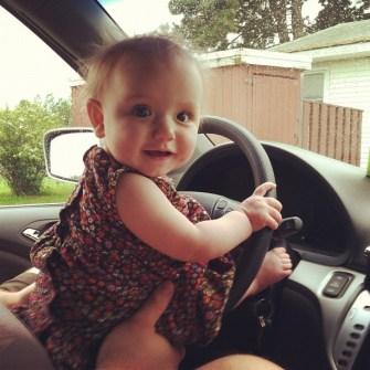 look ma! i can drive!