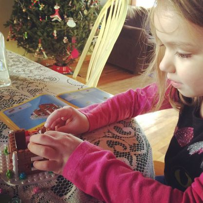 My little LEGO helper