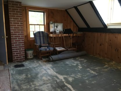 Painted, and the 40-year-old carpet is gone.