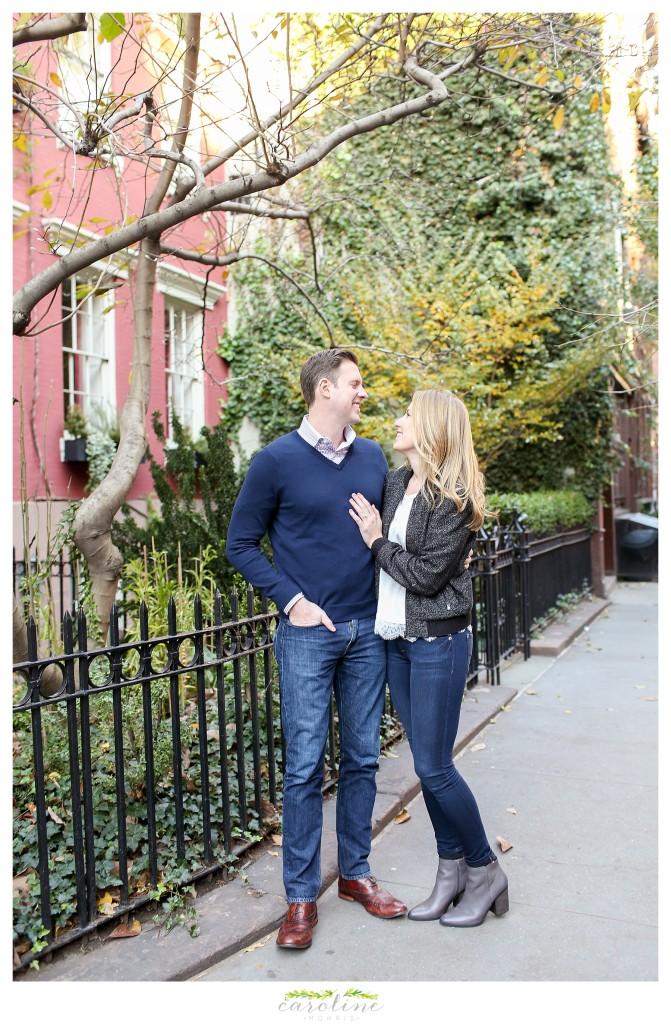 West Village New York Engagement Session