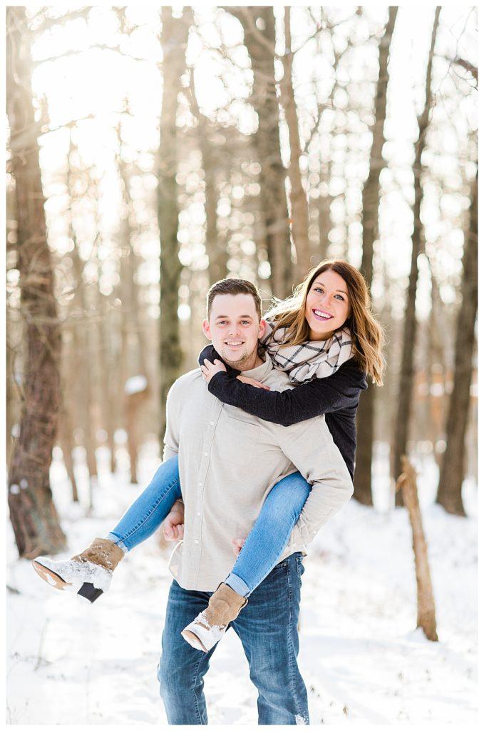 Albrightsville Engagement | Caroline Morris Photography