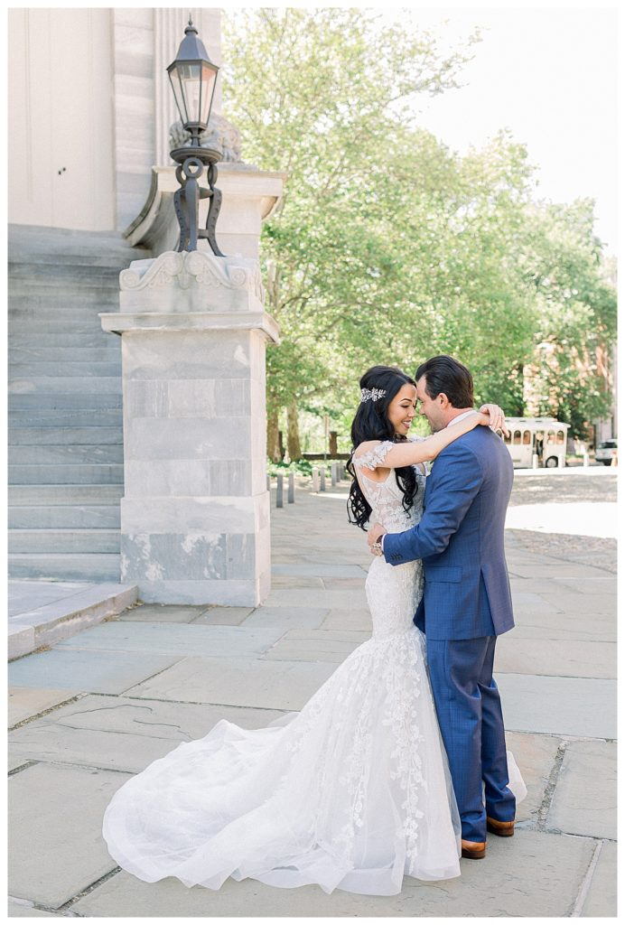 bridal portraits at the Ballroom at the Ben in Philadelphia, PA