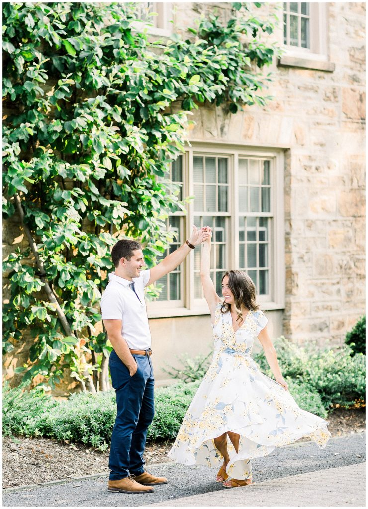 Princeton University Engagement | Caroline Morris Photography