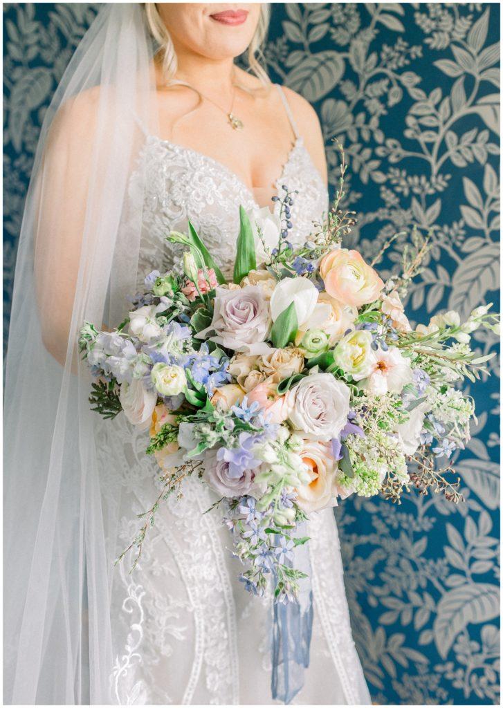 bridal bouquet at Phillipsburg, New Jersey wedding