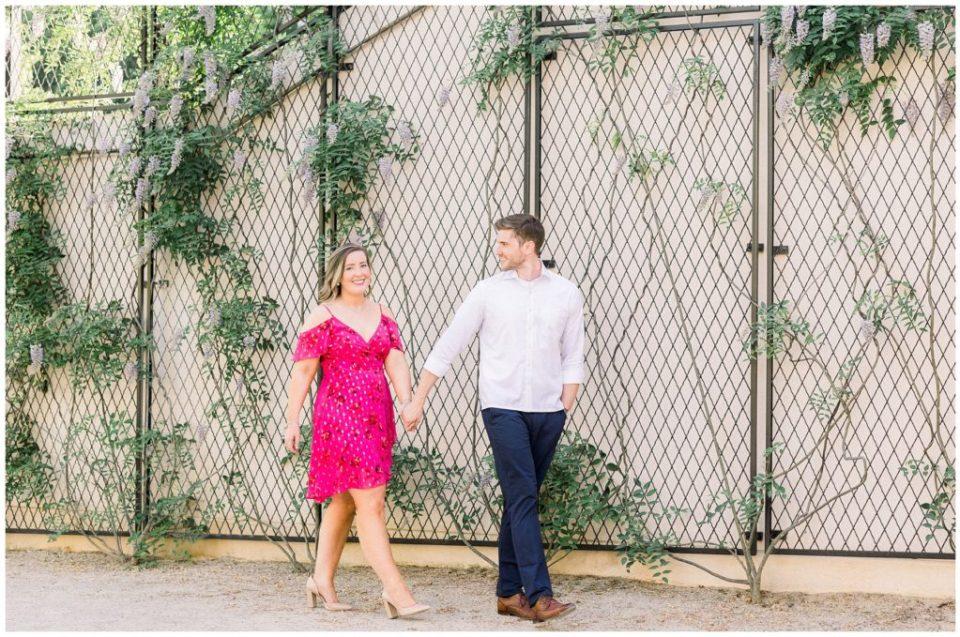 Longwood Gardens Engagement   Caroline Morris Photography