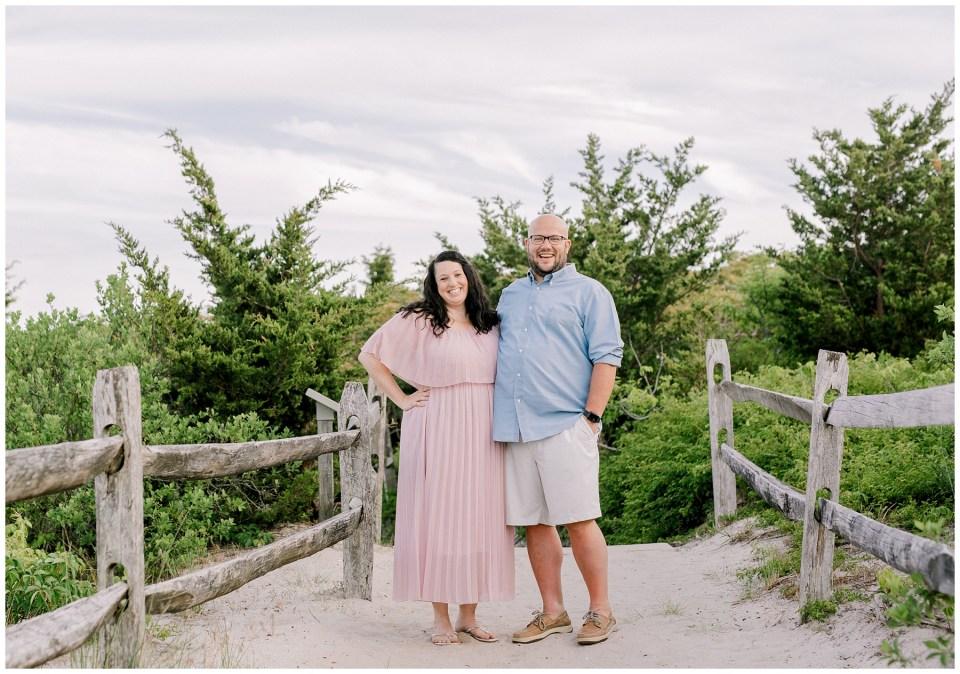 Barnegat Lighthouse Engagement   Lauren + Paul