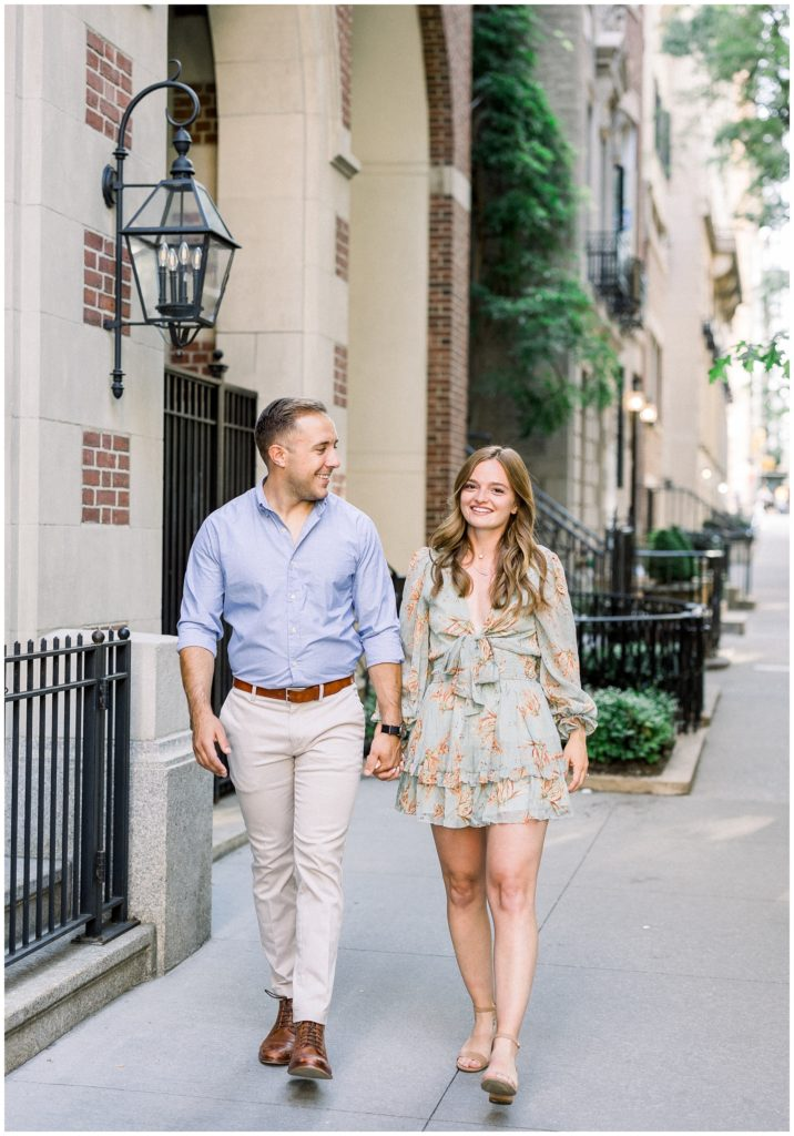 Upper East Side NYC Engagement   NYC Wedding Photographer