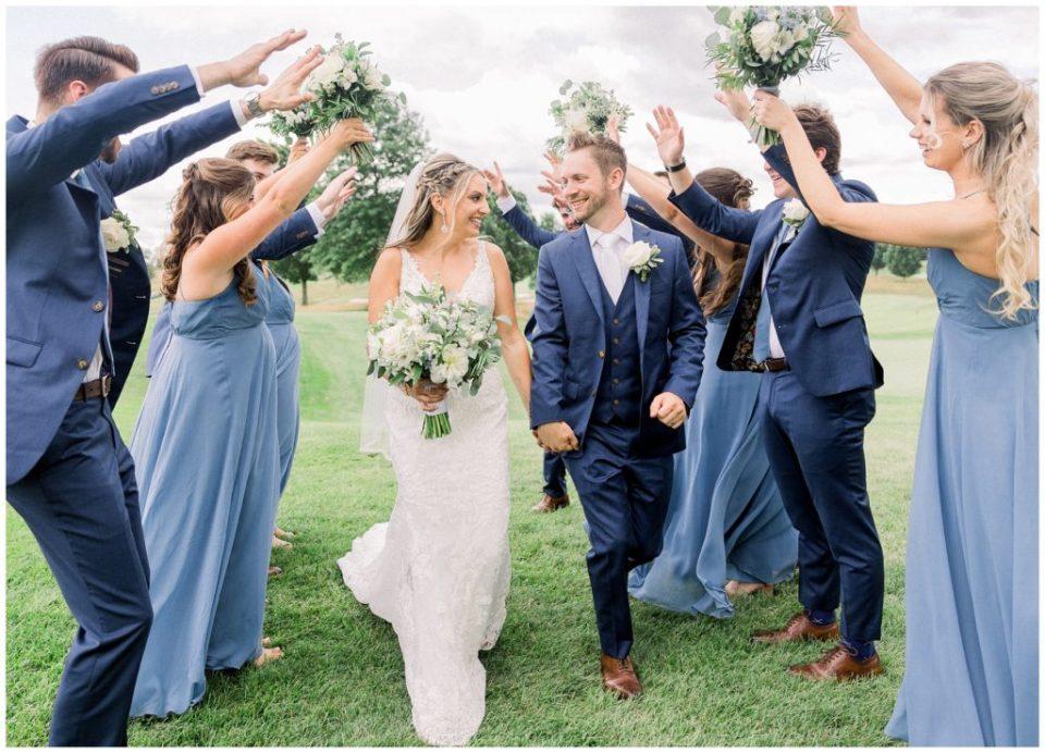 Jericho National Golf Club Wedding | Caroline Morris Photography