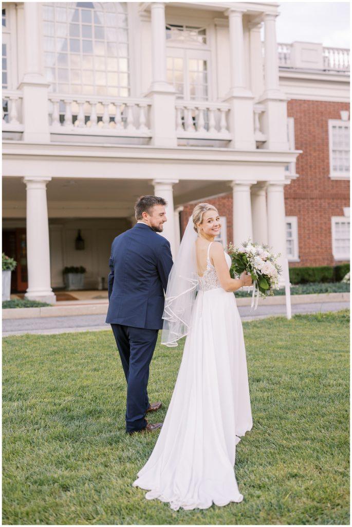 Philadelphia Cricket Club Wedding | Caroline Morris Photography