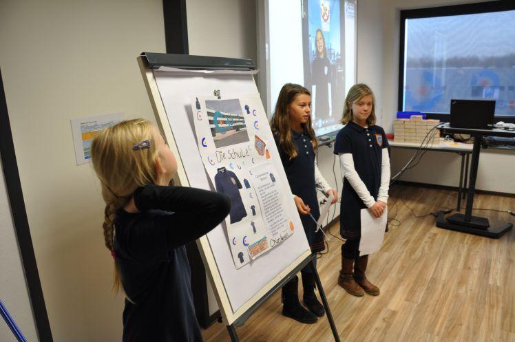 Schulprofil: Schülerinnen der Carolinenschule präsentieren Ergebnisse ihrer Projektarbeit