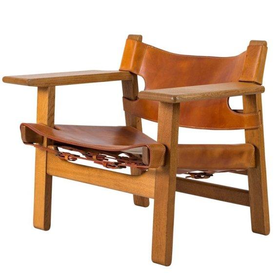 spanish chair borge mogensen