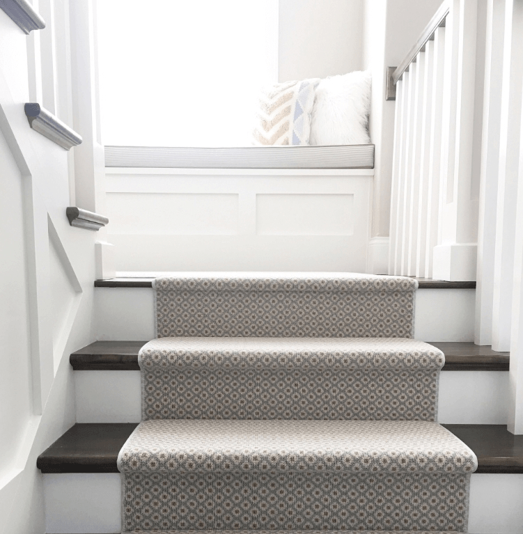 How To Choose And Lay A Stair Runner An Overview Caroline On Design | Rug Runners For Stairs | Wood | Antelope | Hallway | Persian | Mid Century Modern