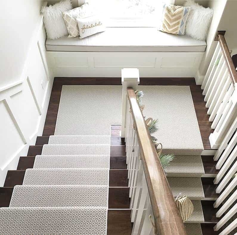 How To Choose And Lay A Stair Runner An Overview Caroline On Design | Stair Runners For Carpeted Steps | Flooring | Youtube | Stair Rods | Wood | Rugs