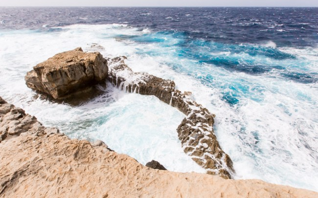 blue hole, azure window gozo, azure window, gozo sights, what to see gozo